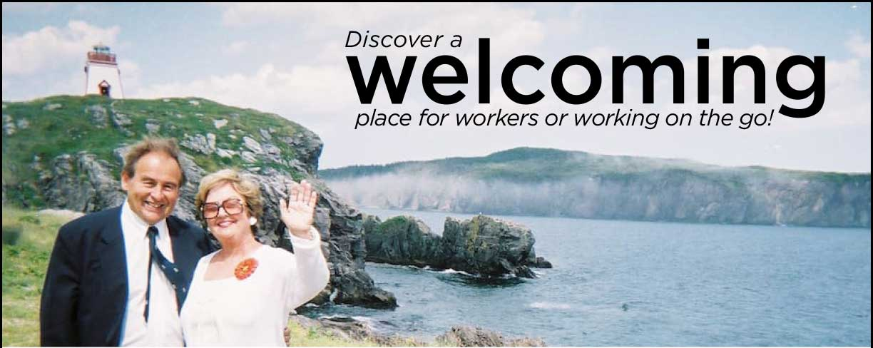Discover a welcoming place for workers or working on the go!