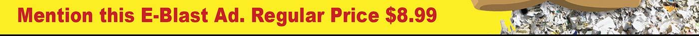 GNCC Special! Mention this E-Blast Ad. Regular Price $8.99