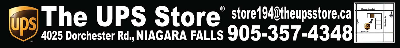 The UPS Store® - 4025 Dorchester Rd., Niagara Falls - 905-357-4348 - store194@theupsstore.ca
