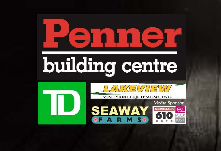 Penner building centre - TD Bank - Lakeview Vineyard Equipment - Seaway Farms - 610 CKTB - EZ Rock 105.7