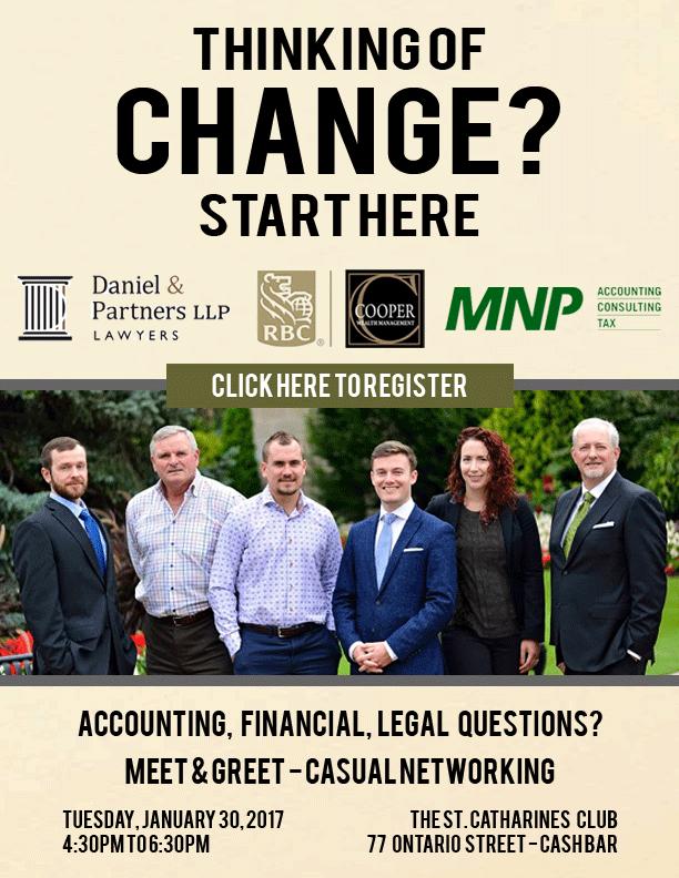 Thinking of change? Start here.
