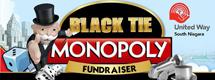 Black tie Monopoly fundraiser