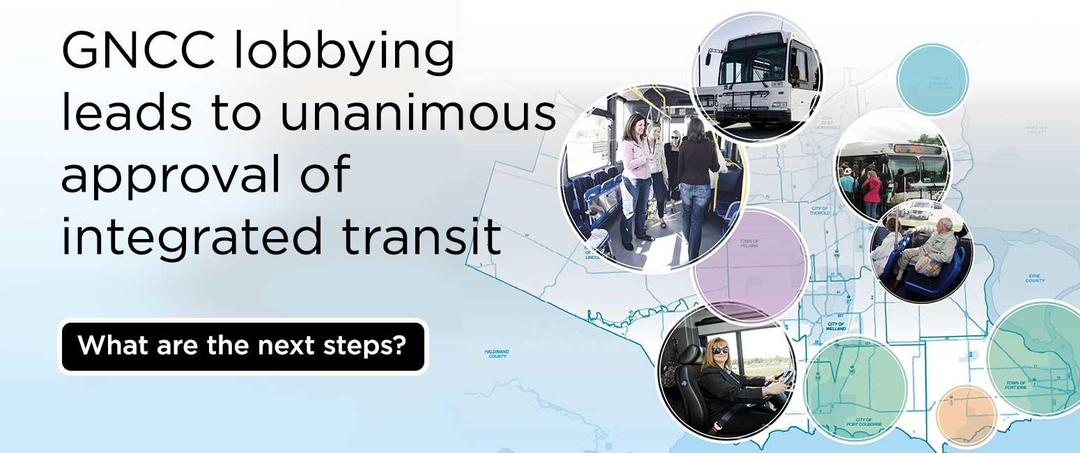 Transit consolidation at councils passes unanimously in Welland and St. Catharines. Niagara Falls to vote tonight.