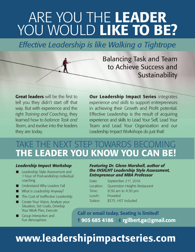 Leadership Impact Series