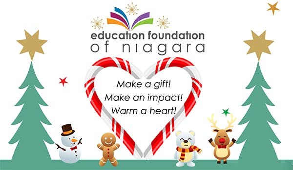 Warm a Heart This Holiday Season with the Education Foundation of Niagara
