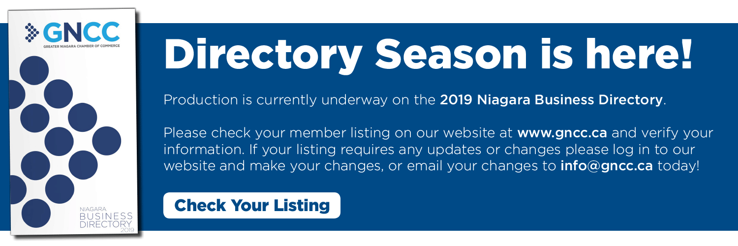 Directory Season is here. Verify your listing today.