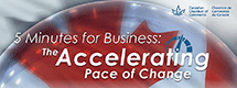 The Accelerating Pace of Change