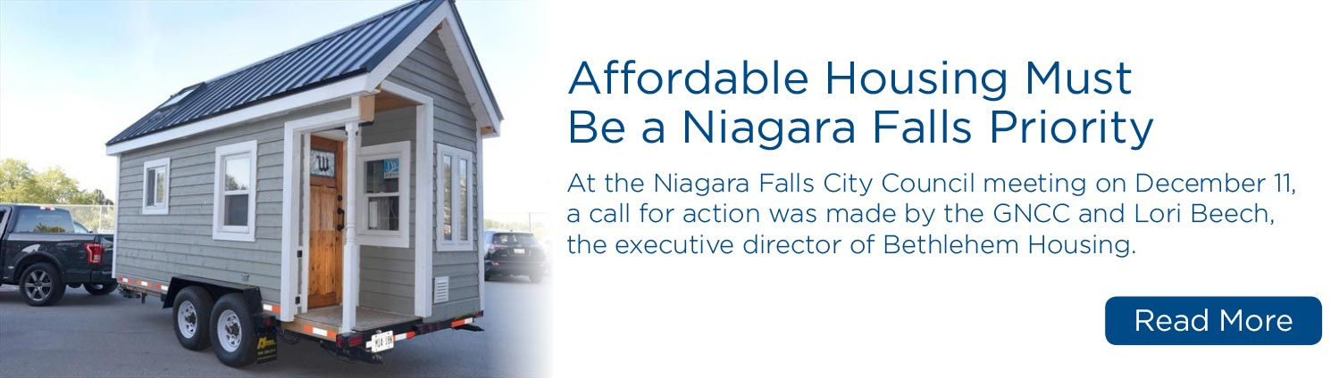 Affordable Housing Must Be a Niagara Falls Priority