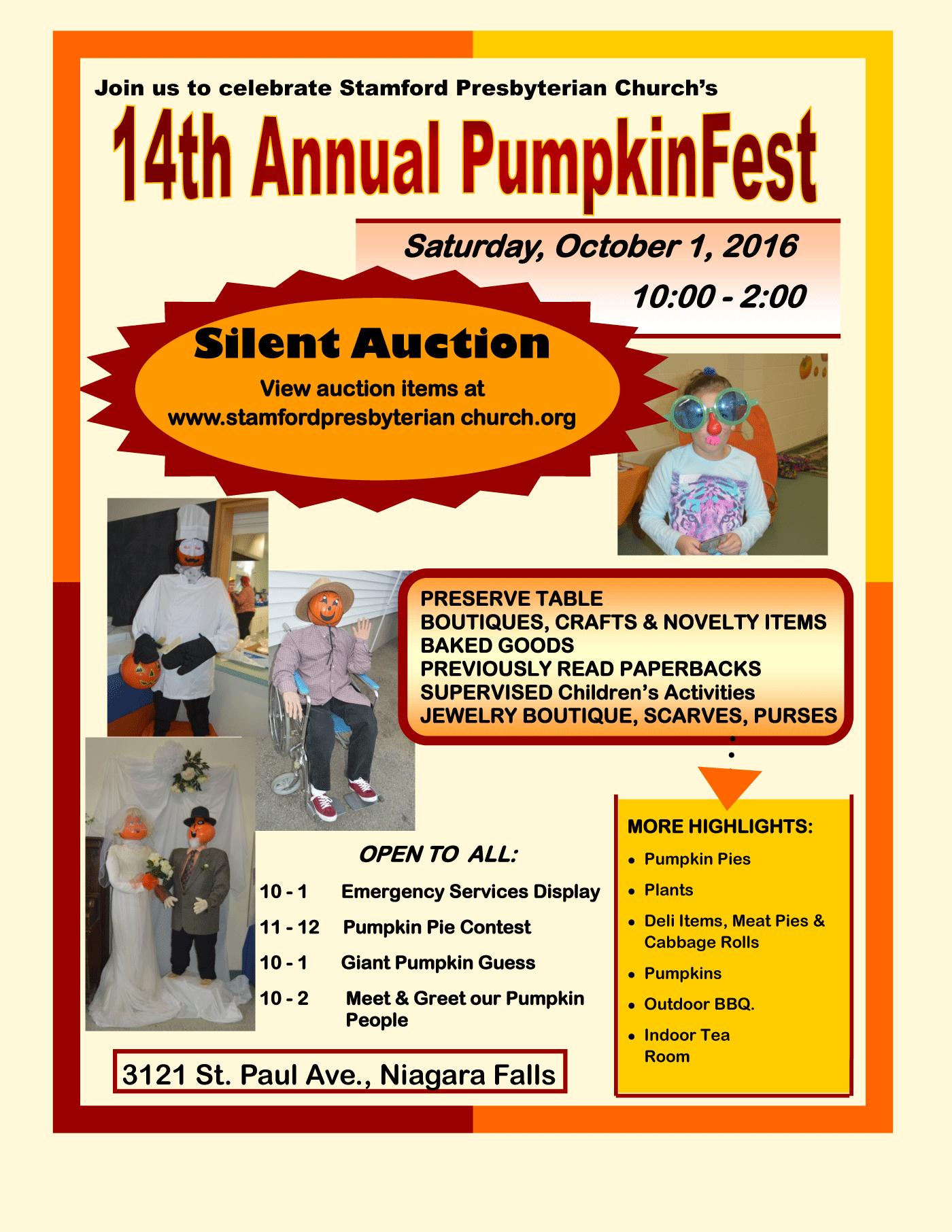 14th Annual PumpkinFest