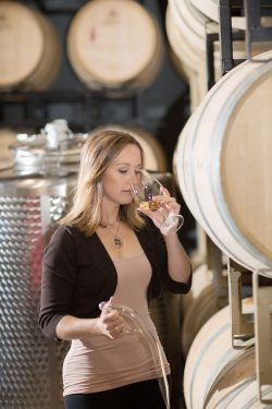 Emma Garner, a graduate of Brock University's Oenology and Viticulture (OEVI) program, is among the numerous female scientists making a mark in the booming grape and wine industry.