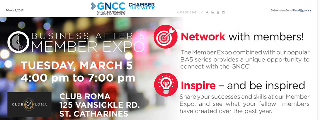 1 Archives - Greater Niagara Chamber of Commerce | Greater